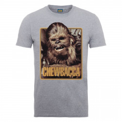 T-Shirt - Star Wars - Chewie Poster -