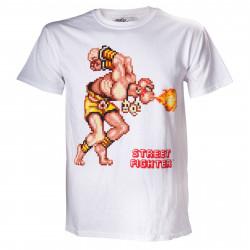 T-Shirt - Street Fighter - Pixelated Dalshim - Bioworld Merchandising