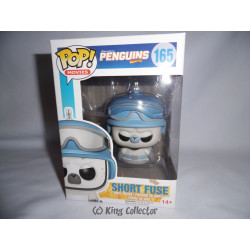 Figurine - Pop! Movies - Les Pingouins de Madagascar - Short Fuse - Funko
