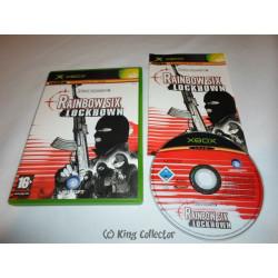 Jeu Xbox - Tom Clancy's Rainbow Six: Lockdown
