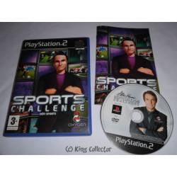 Jeu Playstation 2 - Sports Challenge : Defi Sports - PS2