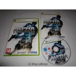 Jeu Xbox 360 - Alpha Protocol