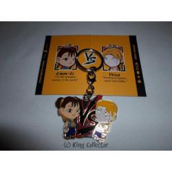 Porte-Clé - Street Fighter - Chun-Li vs Vega - Kidrobot