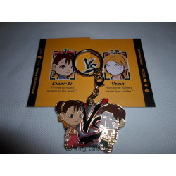 Porte-Clé - Street Fighter - Chun-Li vs Vega var. - Kidrobot