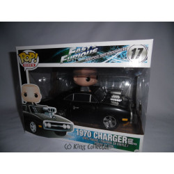 Figurine - Pop! Rides - Fast and Furious - 1970 Dodge Charger - Vinyl - Funko