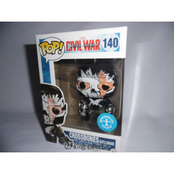 Figurine - Pop! Marvel - Captain America Civil War - Crossbones Battle Damage - Vinyl - Funko