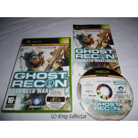 Jeu Xbox - Tom Clancy's Ghost Recon Advanced Warfighter