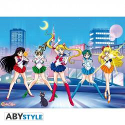 Poster - Sailor Moon - Sailor guerrières - 52 x 38 cm - ABYstyle