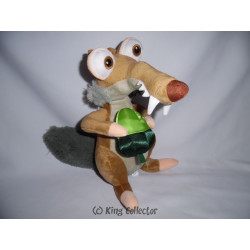 Peluche - L'Age de Glace / Ice Age - Scrat (gland vert) - Play by Play