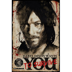 Poster - The Walkind Dead - Daryl Needs You - 61 x 91 cm - GB Eye
