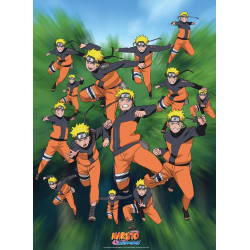 Poster - Naruto Shippuden - Multi Clonage - 52 x 38 cm - ABYstyle