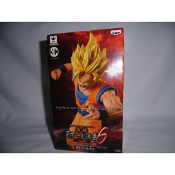Figurine - Dragon Ball Z - Scultures - Super Saiyan Goku - Banpresto