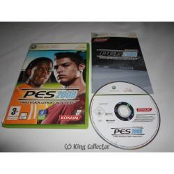Jeu Xbox 360 - Pro Evolution Soccer 2008 - PES 2008