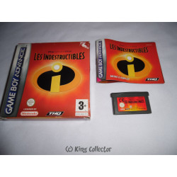 Jeu Game Boy Advance - Disney Pixar Les Indestructibles - GBA