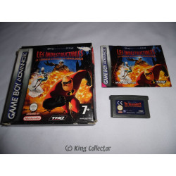 Jeu Game Boy Advance - Disney's Les Indestructibles La Terrible Attaque du Demolisseur - GBA