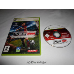 Jeu Xbox 360 - Pro Evolution Soccer 2009 - PES 2009