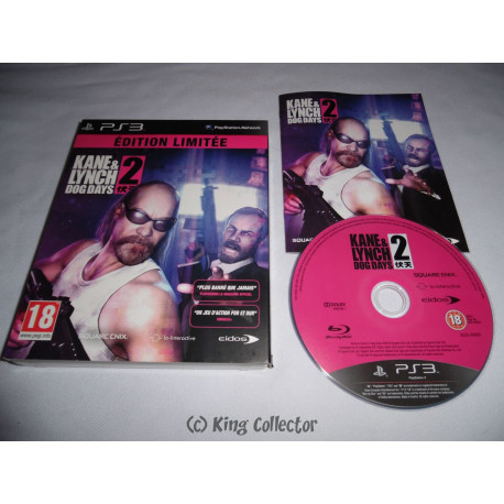 Jeu Playstation 3 - Kane & Lynch 2 : Dog Days (Edition Limitée) - PS3