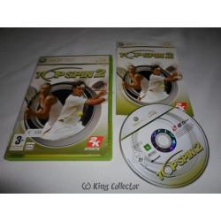 Jeu Xbox 360 - Top Spin 2