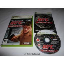 Jeu Xbox 360 - UFC 2009 Undisputed