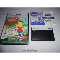 Jeu Master System - The Simpsons Bart vs Space Mutants