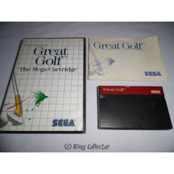 Jeu Master System - Great Golf