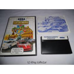 Jeu Master System - Out Run Europa