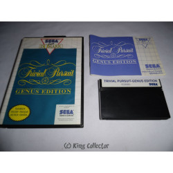 Jeu Master System - Trivial Pursuit Genus Edition
