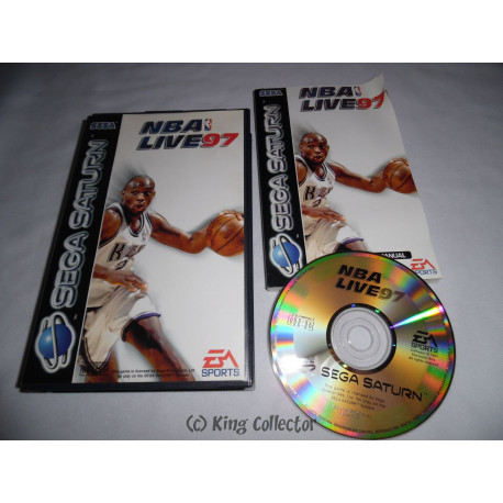 Jeu Saturn - NBA Live 97