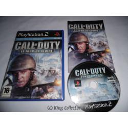 Jeu Playstation 2 - Call of Duty : Le Jour de Gloire - PS2