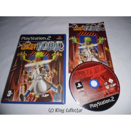 Jeu Playstation 2 - Inspecteur Gadget : L'Invasion des Robots Mad - PS2