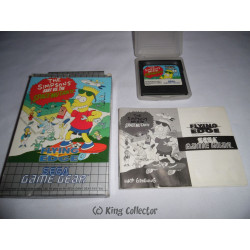 Jeu Game Gear - The Simpsons : Bart Vs The Space Mutants