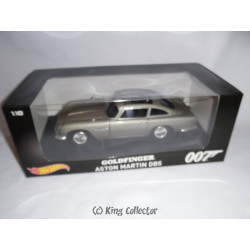 Réplique - James Bond - Goldfinger - Aston Martin DB5 - 1/18 - Hot Wheels