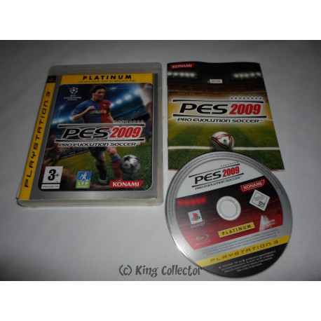 Jeu Playstation 3 - Pro Evolution Soccer 2009 PES 2009 (Platinum) - PS3