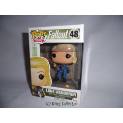 Figurine - Pop! Games - Fallout - Lone Wanderer Female - Vinyl - Funko