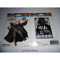 Stickers - Star Wars - Dark Vador - 2 planches de 16x11 cm - ABYstyle