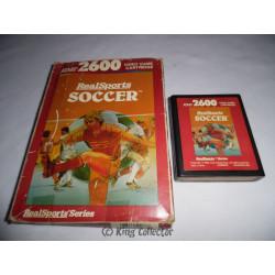Jeu Atari 2600 - RealSports Soccer