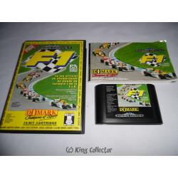 Jeu Mega Drive - F1 Domark - MD