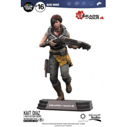 Figurine - Gears of War 4 - Color Tops - Kait Diaz - McFarlane Toys