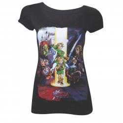 T-Shirt - The Legend of Zelda - Ocarina of Time - Bioworld Merchandising