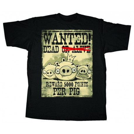 T-Shirt - Angry Birds - Wanted