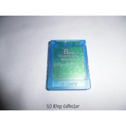 Accessoire - Playstation 2 - Carte Mémoire 8Mb - PS2