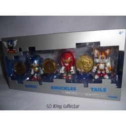 Pack de 3 Figurines - Sonic the Hedgehog - Sonic Boom Classic - Tomy