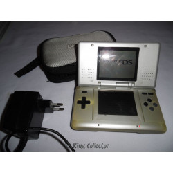 Console - DS grise + chargeur + saccoche