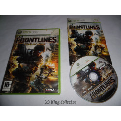 Jeu Xbox 360 - Frontlines : Fuel of War
