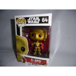 Figurine - Pop! Movies - Star Wars - C-3PO - Vinyl - Funko