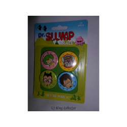Badge - Dr Slump Arale - Set A - 4 pin's / badges - SD Toys