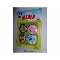 Badge - Dr Slump Arale - Set B - 4 pin's / badges - SD Toys
