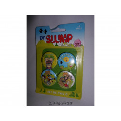 Badge - Dr Slump Arale - Set D - 4 pin's / badges - SD Toys