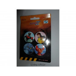 Badge - Mazinger Z - Set A - 4 pin's / badges - SD Toys