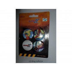 Badge - Mazinger Z - Set B - 4 pin's / badges - SD Toys
